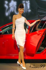 Madza Lady in Tokyo Motor Show 2007