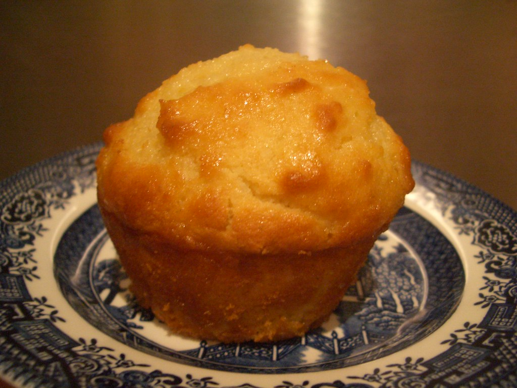 Coconut and Lime Syrup Muffin