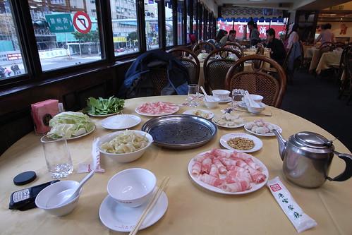 白肉鍋配菜