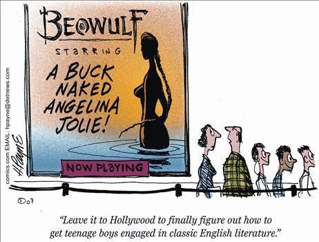 beowulf cartoon