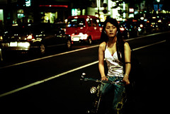 Tokyo nights XIV (manganite) Tags: street city girls people urban color topf25 beautiful beauty fashion bike bicycle japan night digital dark geotagged asian japanese tokyo topf50 nikon women topf75 asia pretty nightshot tl candid shibuya young style atmosphere streetscene fancy  nippon  d200 nikkor dslr gals topf150 topf100 topf250 topf200 nihon kanto stylish japanesegirl 50mmf18 fav100 fav200 fav300 utatafeature manganite nikonstunninggallery 25faves ipernity challengeyou challengeyouwinner anawesomeshot aplusphoto superhearts theperfectphotographer date:year=2006 geo:lat=35660312 geo:lon=139700799 fav400 date:month=july date:day=8 format:ratio=32 streetphotographycandidstreetportrait