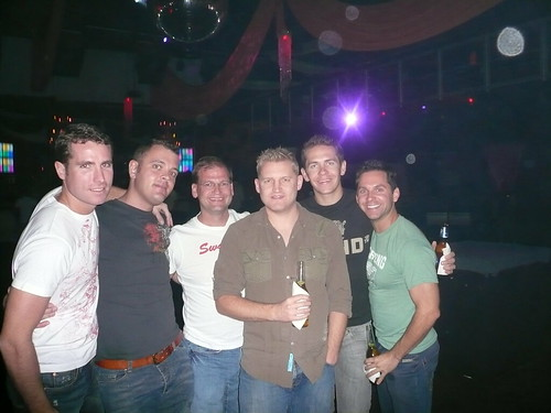 The group at Coliseum in Fort Lauderdale