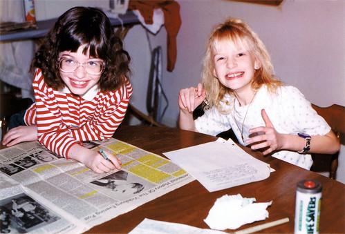 Sarah and Erica