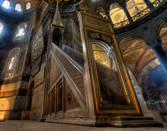 Stairway to heaven (Timothy Neesam (GumshoePhotos)) Tags: turkey aya sofia istanbul mosque timothy hdr hagia neesam photomatix