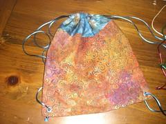Drawstring Bag Closed