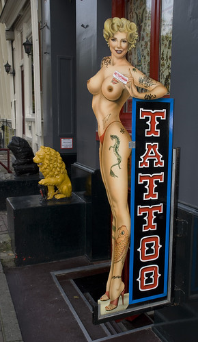 Vincent posters · tattooed lady