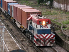 Yo puedo sola (kilómetro9) Tags: railroad argentina train tren buenosaires railway ferrocarril nca colegiales gr12