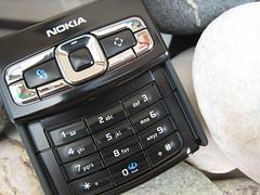 Nokia N95 8GB keyboard