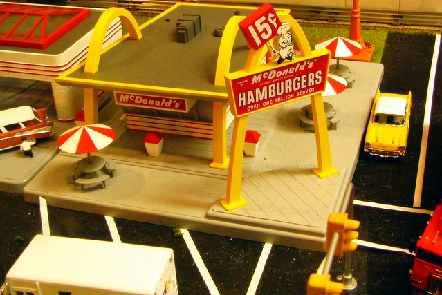 Model Train Display #2: McDonalds