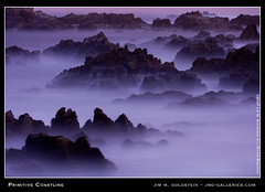 Primitive Coastline (jimgoldstein) Tags: ocean california seascape landscape coast rocks purple fv10 asilomarstatebeach naturesfinest supershot jmggalleries anawesomeshot colorphotoaward aplusphoto jimmgoldstein superbmasterpiece 200850plusfaves