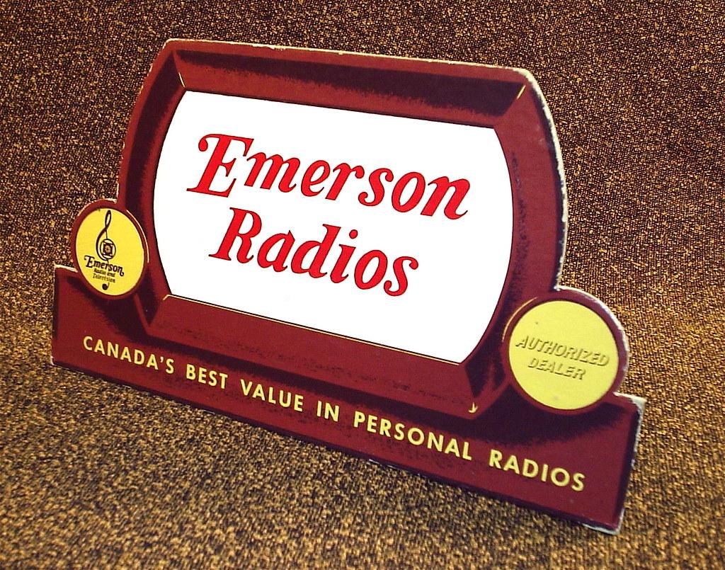 Emerson Radios.