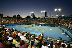 At the Australian Open Tennis 2008, Melbourne.