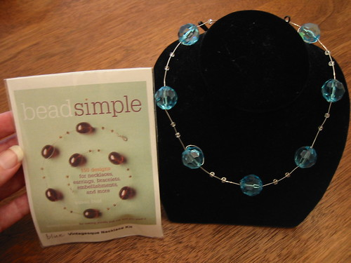 Bead Simple Vintagesque Necklace kit up for grabs!