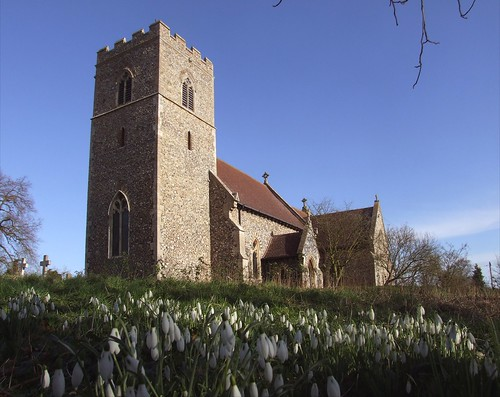 Baylham in spring: click to view large