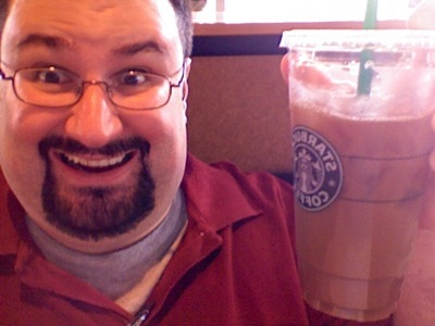 Dave in Starbucks - Photo Booth - Feb. 5, 2008