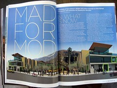Mad For Mod:  Article on New Building/Redevelopment in Palm Springs Using the Modernist Aesthetic