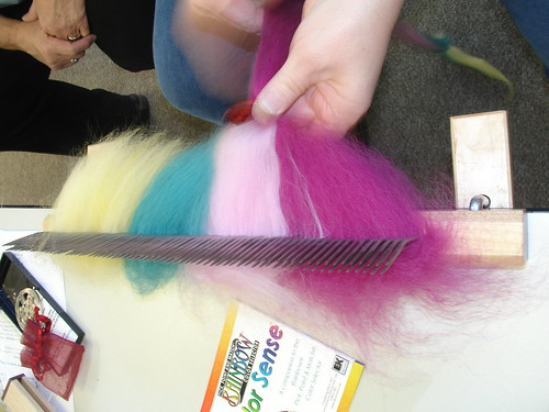 making pencil roving