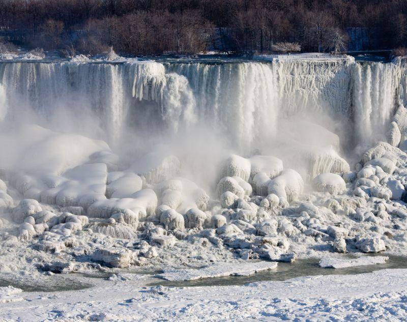 Frozen American Falls
