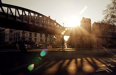 Paris, station de metro Jaures (Calinore) Tags: street city paris france underground subway metro getty transportencommun iledefrance ville ligne2 metroaerien ruefrançaisfrance selectionneespargetty