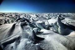 beautiful jagged ice (snapstill studio) Tags: winter snow cold ice michigan jagged upnorth straits mounds mackinac mackinaw