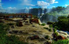 Cataratas (Nilton Ramos Quoirin) Tags: brazil water paran rio gua brasil river falls waterfalls cataratas cachoeira quedas iguazu hdr passarela iguau fozdoiguau anawesomeshot megashot diaadiabrasileiro