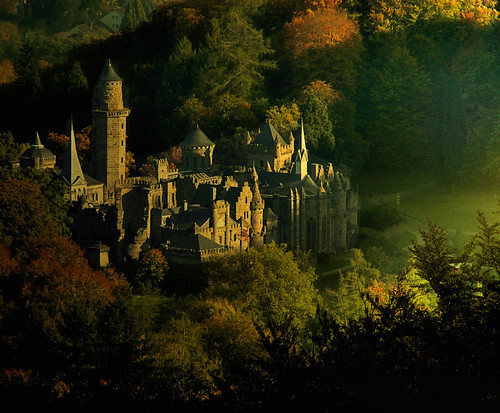 My fairy tale castle by B℮n.