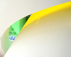 Architecture in Yellow and Green (yushimoto_02 [christian]) Tags: abstract green art yellow horizontal wall museum architecture modern canon germany munich mnchen geotagged photography arquitectura europe bellasartes arte kunst nopeople exhibition minimal illuminated indoors architektur munchen museo minimalism curve ausstellung exposicion pinakothekdermoderne pinakothek minimum kunsthalle bended traveldestinations stephanbraunfels exhibicion justimagine lowangleview builtstructure megashot architectureinyellowandgreen pinakothekdermoderneagain exploredcanonpowershotg7 schneknste bellaarte schoenekuenste
