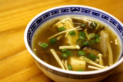 Sichuan hot and sour soup 1