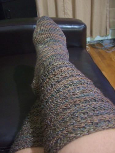 Very Tall Tibetan Socks (1)