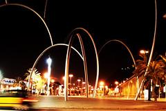 Monument, Plaa de la Carbonera, Barcelona (el_mo) Tags: barcelona madrid people monument valencia smart night de la spain seville espana andalusia almeria notte barcellona spagna plaa siviglia carbonera plaadelacarbonera