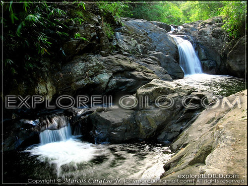 Natural pools in Sitio Camandag