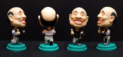 3D caricature bobblehead dolly - Su Zhen Chang