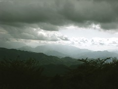The view from Mt Takao