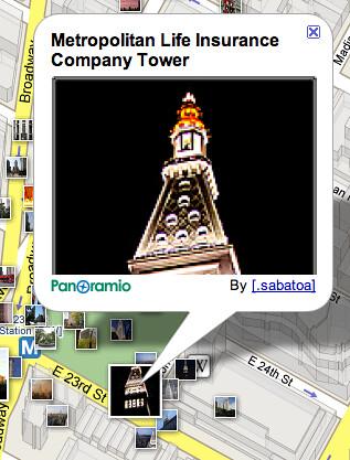 Imágenes en Google Maps