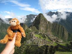 Tenzing Scales Machu Picchu