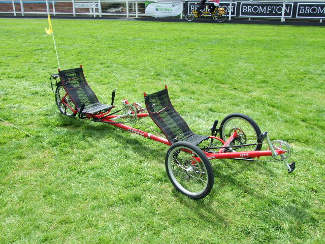 Tandem Greenspeed GTT Recumbent