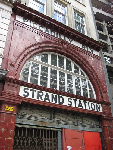 Strand Station quite near Holborn Station