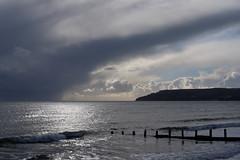 Foreboding (pauldbrown) Tags: yaverland beach foreboding iow isleofwight sea seascape sky