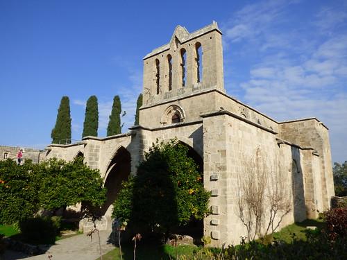 Bellapais Abbey,  west front