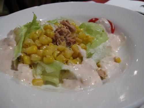 沙拉--千島醬