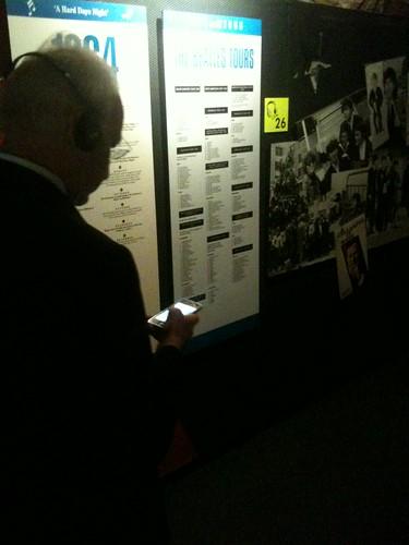 Stoiber und sein iPhone