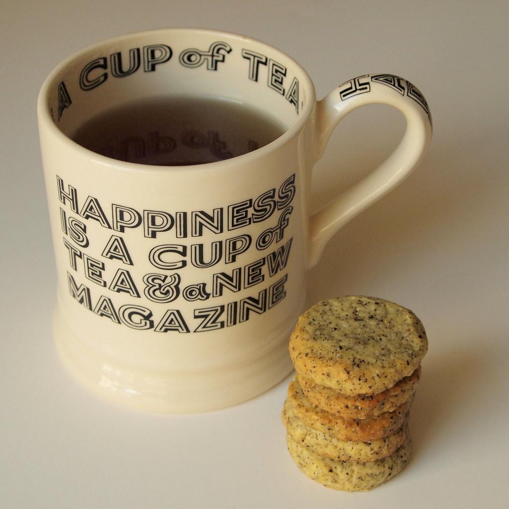 Sticky Penguin's Earl Grey tea cookies