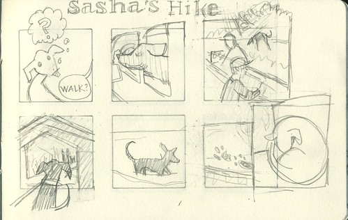 sasha's hike by Bricoleur's Daughter