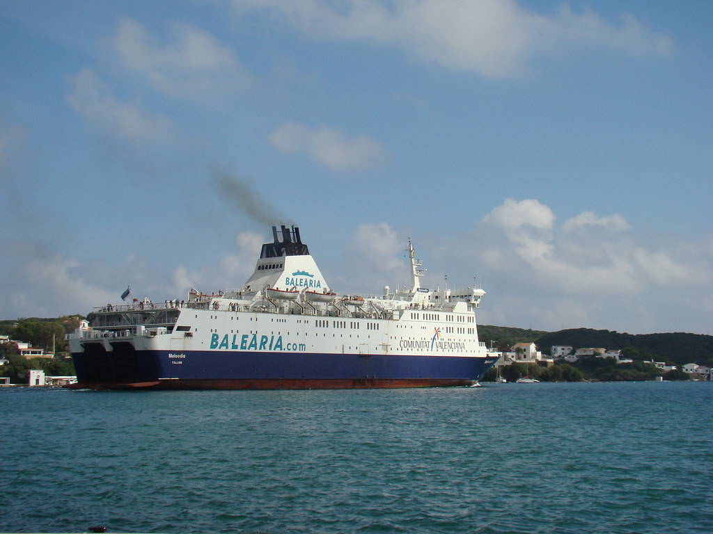 Ferry Leaving Mahon
