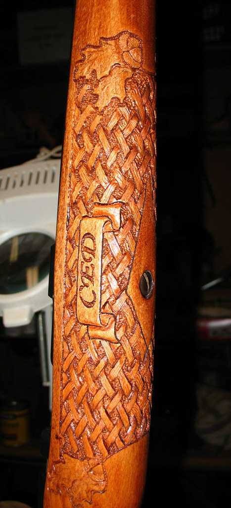 Forearm carving