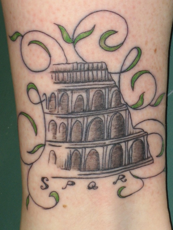spqr. tattoo