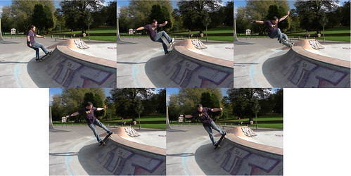 rick hurst sequence taken by casio Z1050