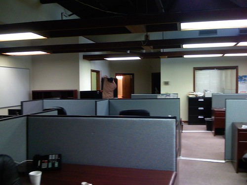 almost empty office
