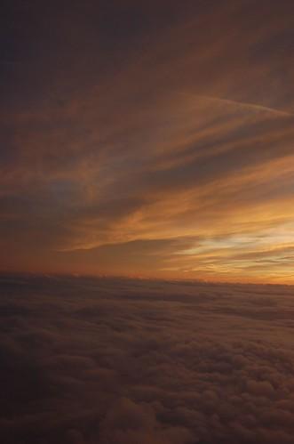 Sky above London