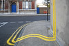 no parking (johanna) Tags: streetart pavement banksy bethnalgreen doubleyellows